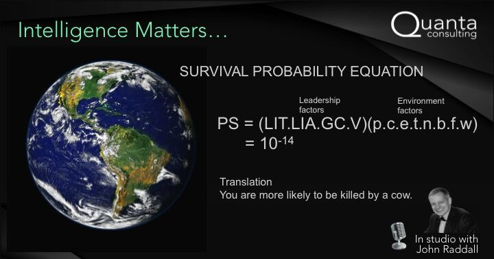 Probability of our survival