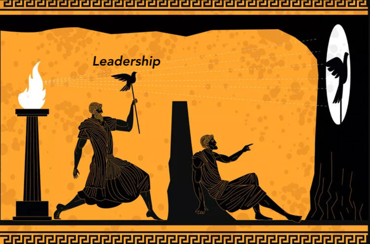 Leadership and teams.  Making the invisible, visible.  Plato's solution