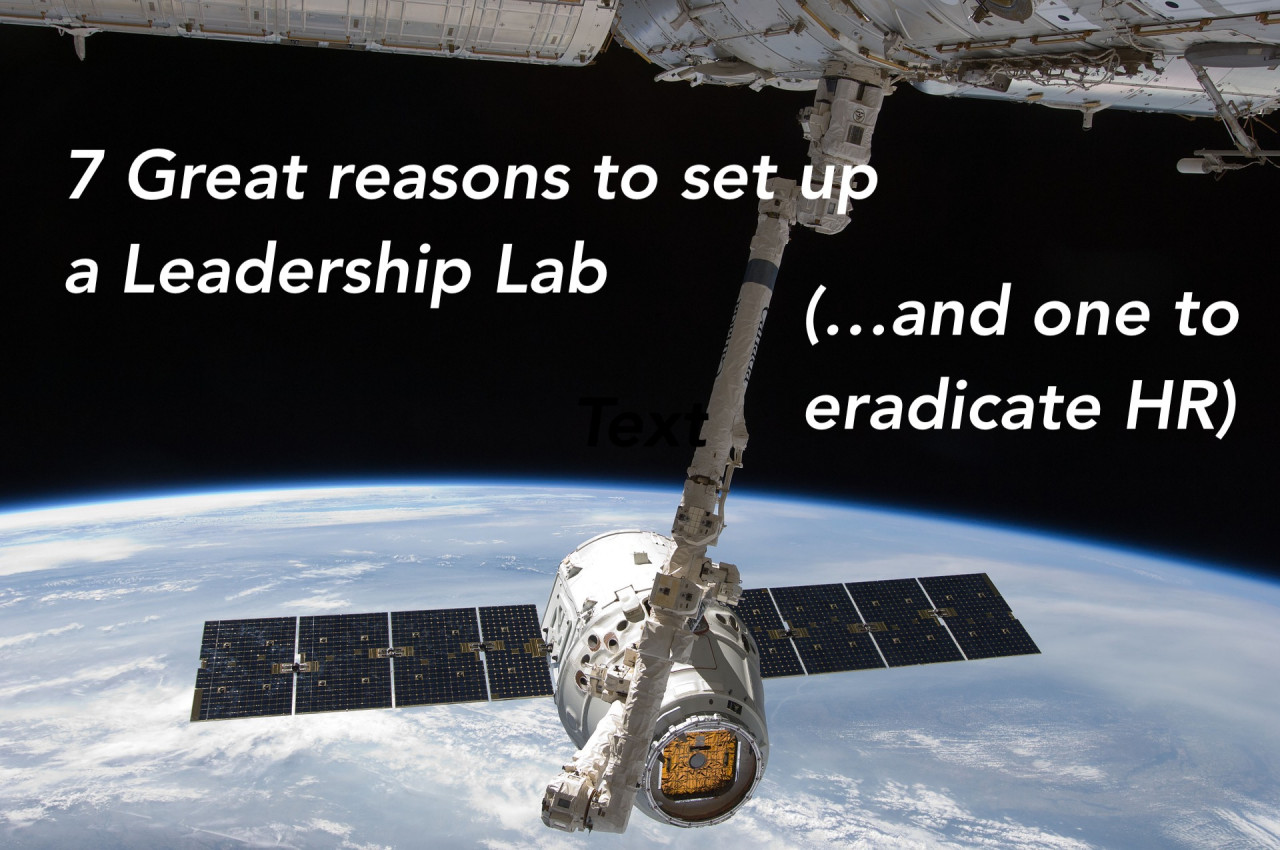 To Survive and Grow Organisations need the Evolutionary Power of the Leadership Lab