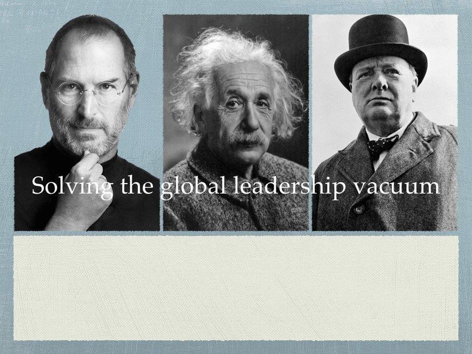 Solving the global leadership vacuum