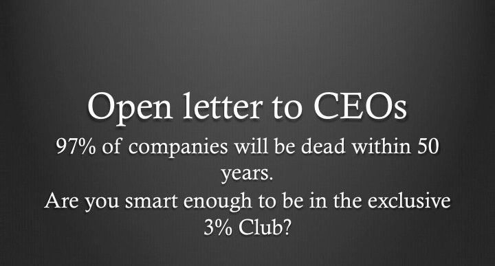 Open Letter to CEOs